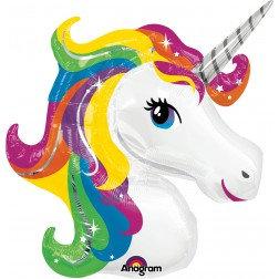 Rainbow Unicorn Super Shape