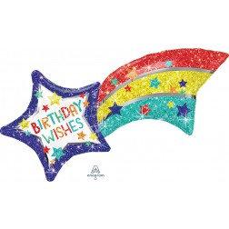 Birthday Wishes Shooting Star