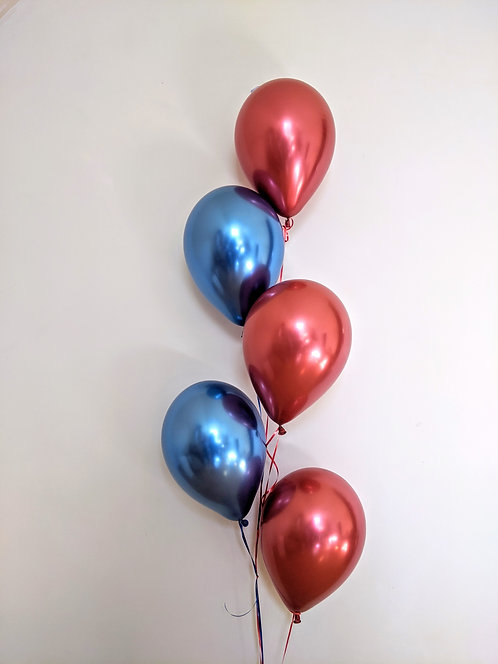 5 Latex Balloons Bunch