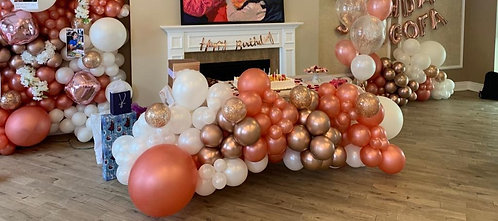 Balloon Garland - Cake Table