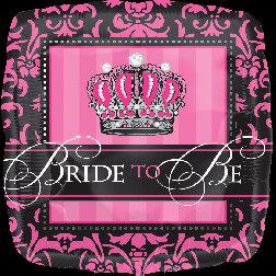 Standard Foil -  Bride to Be