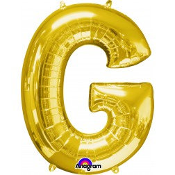"Super Shape Letter- "" G "" Gold"