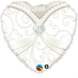 Standard Foil-Heart Shape Bride