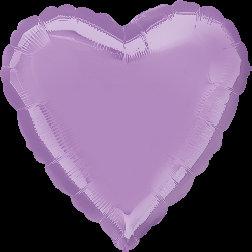 Heart Pastel Pearl Purple