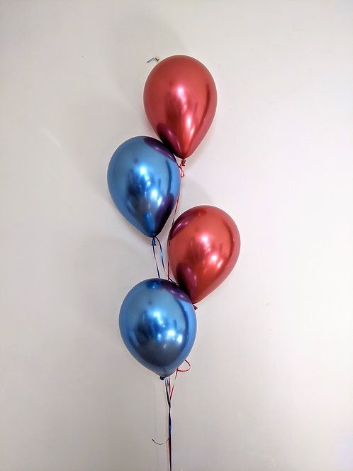4 Latex Balloons Bunch