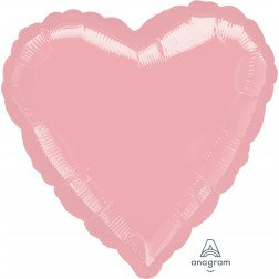 Heart Pearl Pastel Pink