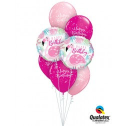 Flamingo Birthday Bouquet