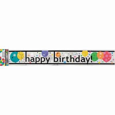 Happy Birthday Banner Breeze of Air