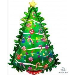 Christmas Tree Holographic
