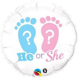 Standard Foil - He Or She ?