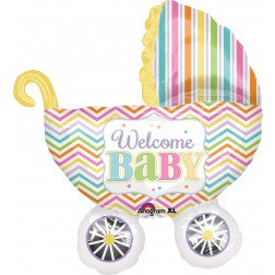 Super Shape - Welcome Baby Stroller
