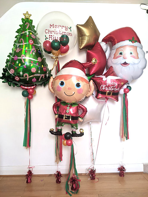 Super Christmas Balloons Package