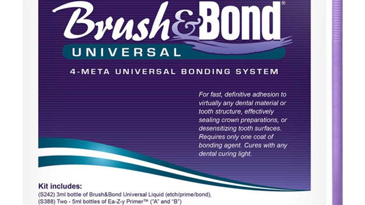 Brush & Bond Universal 4-Meta Bonding System Kit
