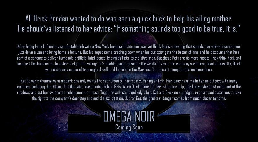 Omega Noir by Sean E. Kelly