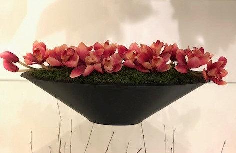 Elongated Fuschia Orchid