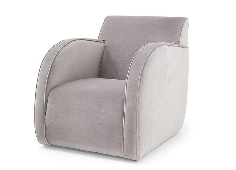 Emile Swivel Club Chair