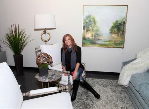Dogwood Home Furnishings Features Trish Land Fine Art