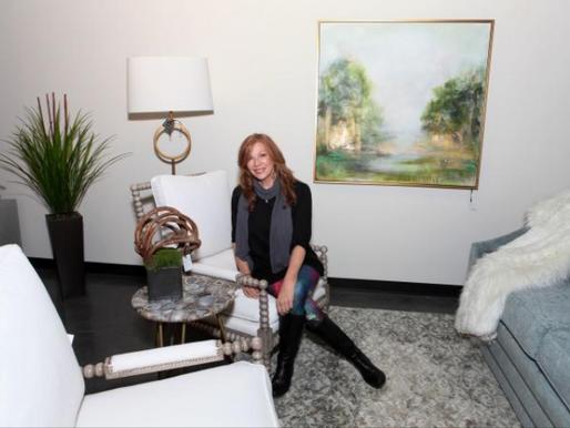 Dogwood Home Furnishings Features Trish Land Fine Art