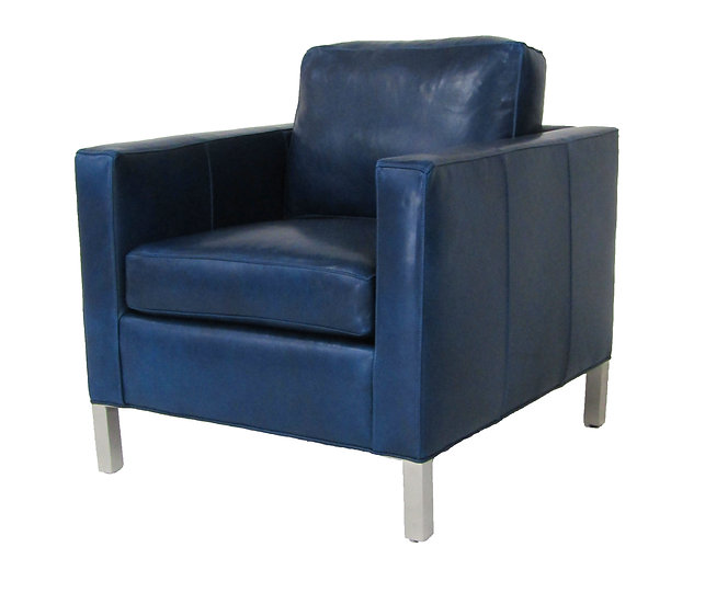 SOHO Leather Accent Chair