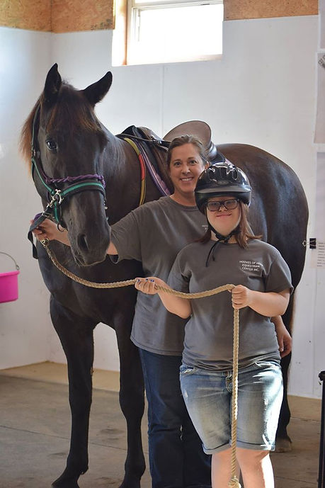 Hooves of Hope Equestrian Center Therapeutic Riding Program