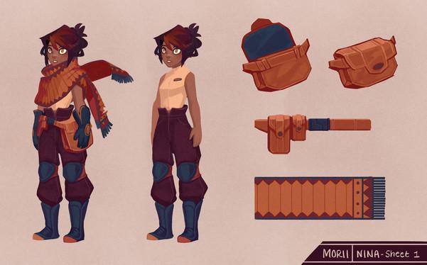 Morii: Nina Final Concept