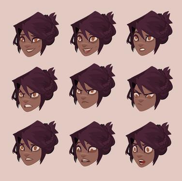 Morii: Facial Expressions
