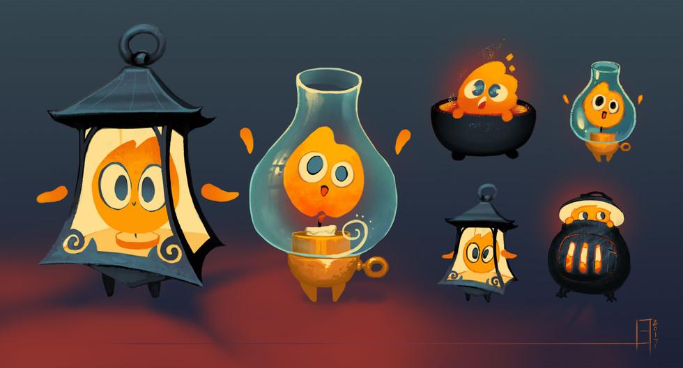 Guardians: Lantern Pet Concept