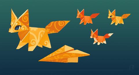 Guardians: Origami Fox Concept