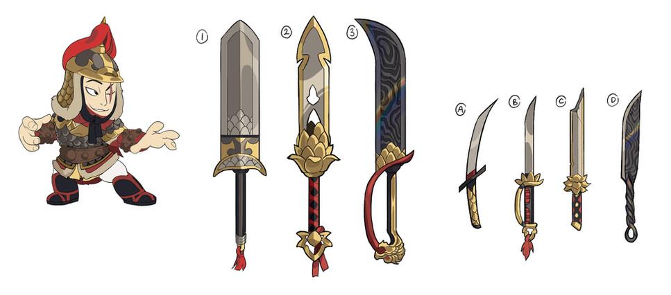 Jaeyun - Skin and Weapon Concepts
