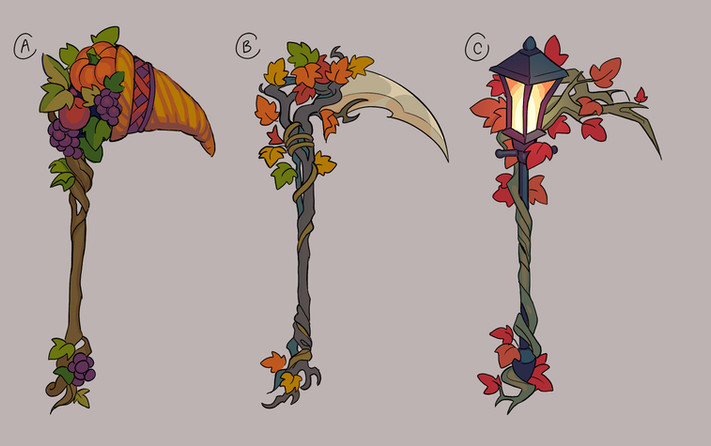 Fall Sythe Concepts
