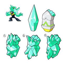 Ben 10 - Diamond Head Weapon Concept