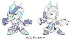 Brawlhalla: Arctic Fox Yumiko