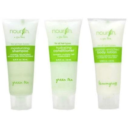 Nourish Toiletry Sample Kit