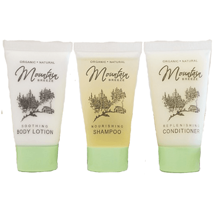 Mountain Breeze Toiletry Sample Kit