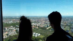 Ausblick vom Olympiaturm