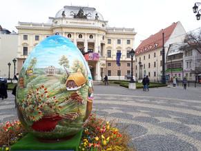 Osterdeko in Bratislava