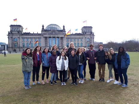Reichstag mit Glaskuppel