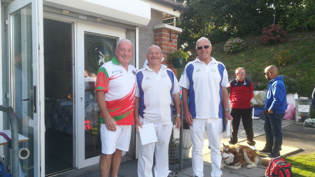 Over 60's Pairs Runners Up