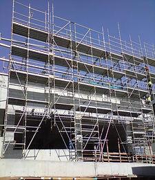 Westfeild Mall scaffolding