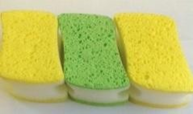 Sponge Scourer with Cellulose