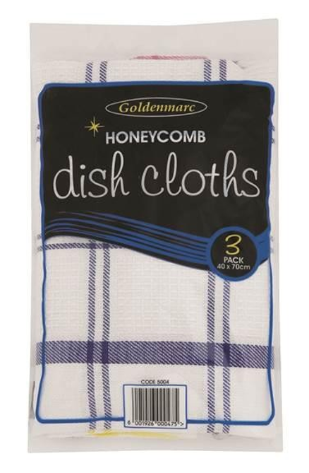 Dish Cloth Honeycomb Toweling