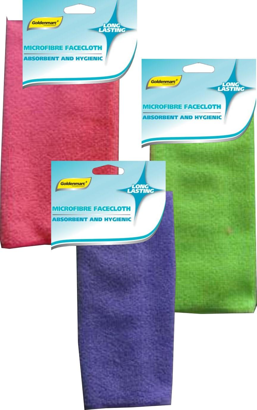Microfibre Facecloth