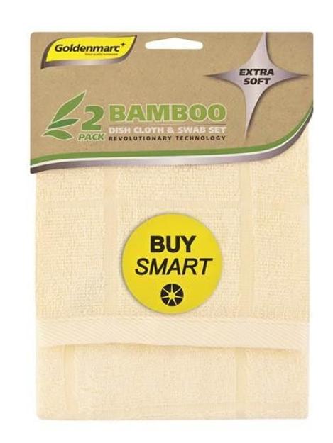 Bamboo Dish Cloth - Swab