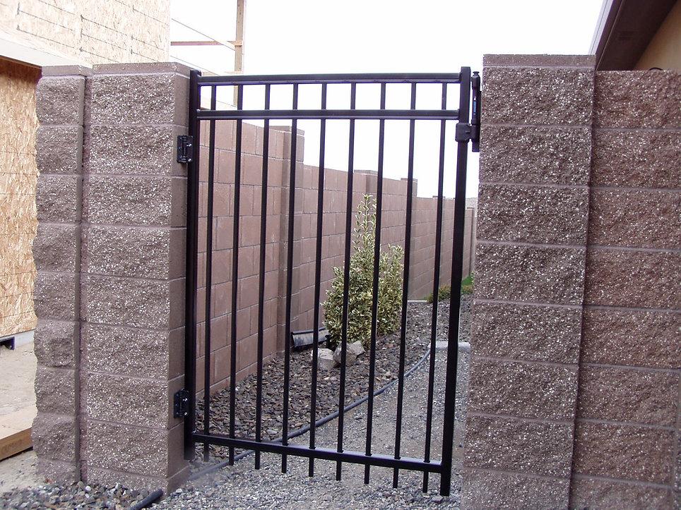 Ornamnal Iron Gate