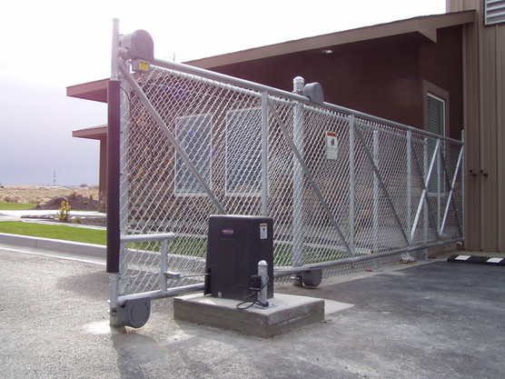 Commercial Automated Gate