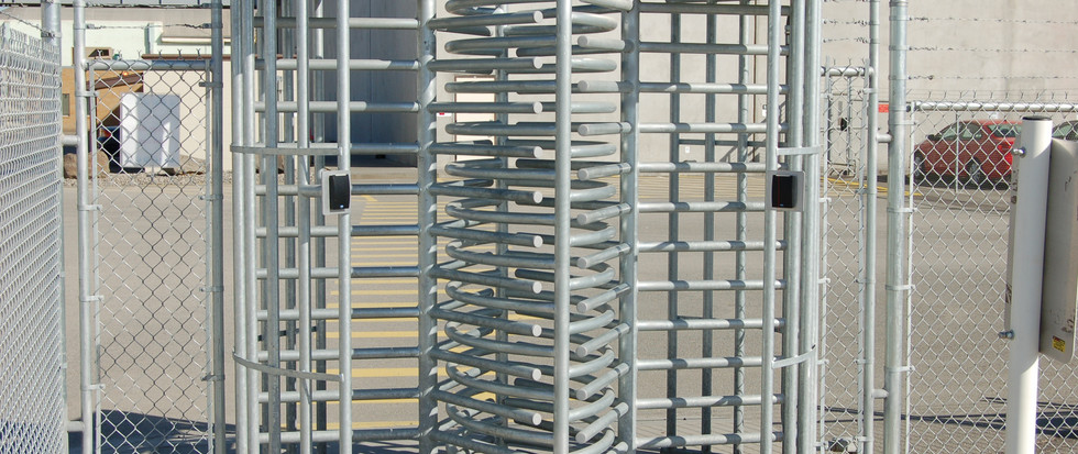 Commercial Chain Link Fence with Gate