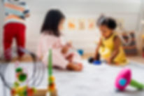 Toddlers Playing - Lake Country Childcare