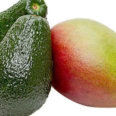 Avocado and Mango Juice (የአቦካዶና የማንጎ ጭማቂ)