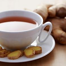 Homemade Ginger honey tea (ጅንጅብል በማር ሻይ)