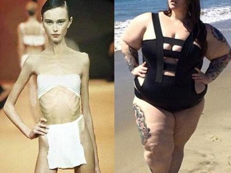 Why we don't see 'average' size models'